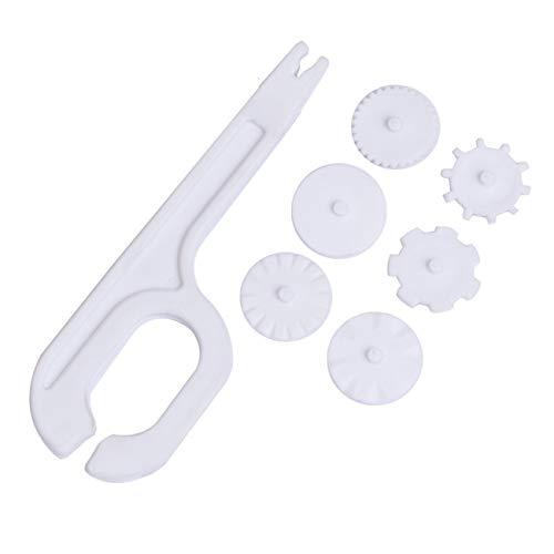 Fannty Fondant Rad-Rolle Modellierung Embosser Cutter Kuchen-Zuckerglasur Werkzeug verziert -