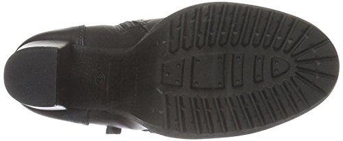 H.I.S Damen 28825 Kurzschaft Stiefel Schwarz (Black)