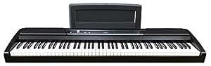 korg sp170s 88 key digital piano black musical instruments. Black Bedroom Furniture Sets. Home Design Ideas