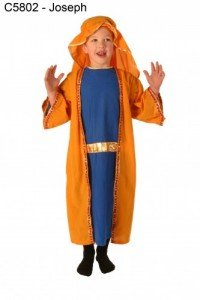 Kind Play Krippe Joseph 6-8 Jahre/Kinder Kostüm Kostüme und (Kostüme Joseph Krippe)