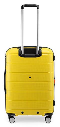 HAUPTSTADTKOFFER - PRNZLBRG - Hartschalenkoffer Trolley Rollkoffer Reisekoffer, TSA, 66 cm, 77 Liter, Gelb - 5