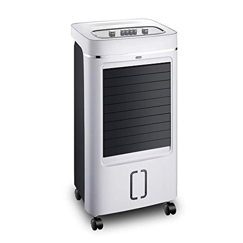 CCMM - Klimageräte Ventilator Klimaventilator | VerdunstungsluftküHler 3 Geschwindigkeitsstufen 8l GroßEr Wassertank Einfache Mechanische Bedienung 75W 39.5x31x78cm -