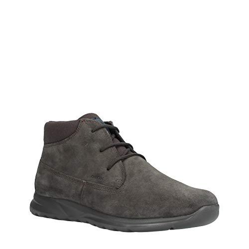 Geox u damian a, stivali classici uomo, marrone (mud c6372), 43 eu