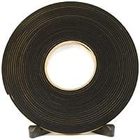 Rubber Stuff Ltd. - Cinta autoadhesiva de neopreno para aislamiento térmico (10 x 3 mm, 10 m)