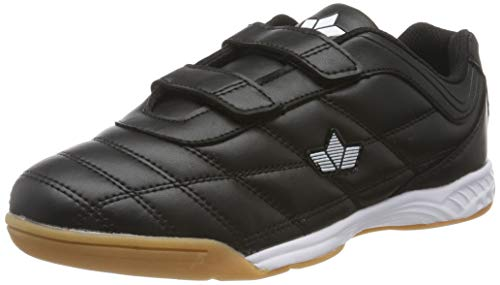 Lico Unisex-Erwachsene Sports V Multisport Indoor Schuhe, Schwarz (Schwarz/Weiss Schwarz/Weiss), 41 EU