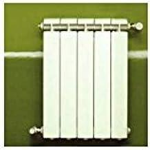Global–Calefacción Central hierro fundido aluminio 5elementos blanco Klass 350