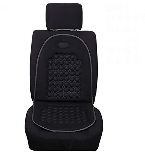 Zlqf copri-sedile auto 12v riscaldato universale | calore rapido a 2 livelli | scalda sedile per autovettura, camper, camion,black