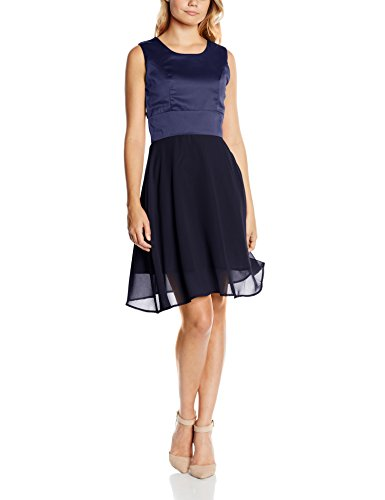 Intimuse Damen, ärmelloses Cocktail Kleid, Blau (Mitternachtsblau 044), 40