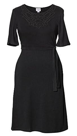 Boob Design 2 in 1 Umstandskleid Stillkleid 'Stella' Kurzarm schwarz
