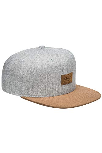 Reell Cap Suede 6-Panel Cap, lt. heather grey, Einheitsgröße -