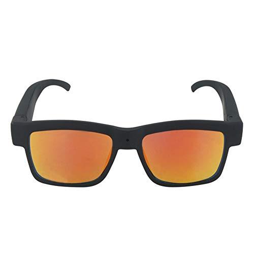 High-Tech-Kamera Brille, 1080P Outdoor Sports Action Shooting High-Definition-Kamera Sonnenbrillen, Unterstützung Einer Vielzahl Von Spezifikationen Von Objektiven, 2 Farben