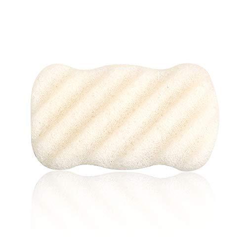 Body Sponge, Body Facial Sponge Éponge nettoyante pour soins de la peau - Konjac Sponge for All Skin
