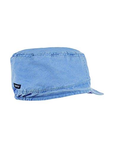 maximo Tellercap, Waschstoff - Bonnet - Garçon Bleu - Blau (demin blue 40)