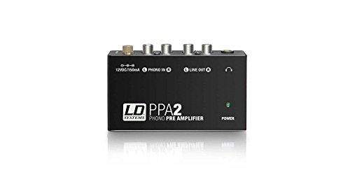 LD Systems ldppa2–ppa2preamplificatore/equalizzatore RIAA per giradischi