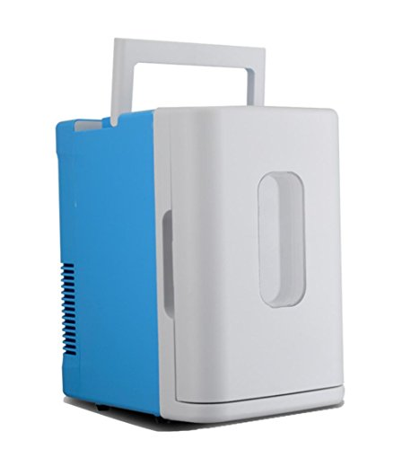 XW 10L Car Home Portable Mini Kühlschrank , Blue White,blue white