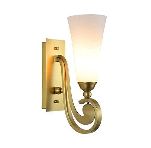 Wandlampe Feuer Schlafzimmer Schlafzimmer spiegelt die Ende Arbeit Scheinwerfer E14 -
