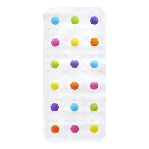 munchkin-tapis-de-bain-rigolo-a-pois-multicolore