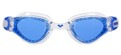 arena Kinder Unisex Training Freizeit Schwimmbrille Cruiser Soft Junior (UV-Schutz, Anti-Fog Beschichtung), Clear-Blue-Clear (17), One Size