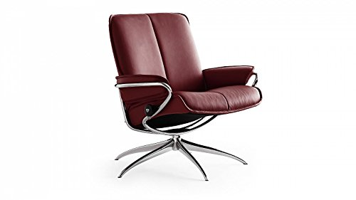Stressless® City Sessel mit Hocker (M) Low back Rot günstig