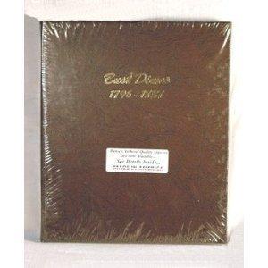 Dansco Bust Dimes 1796-1837 Album #6121 by Dansco