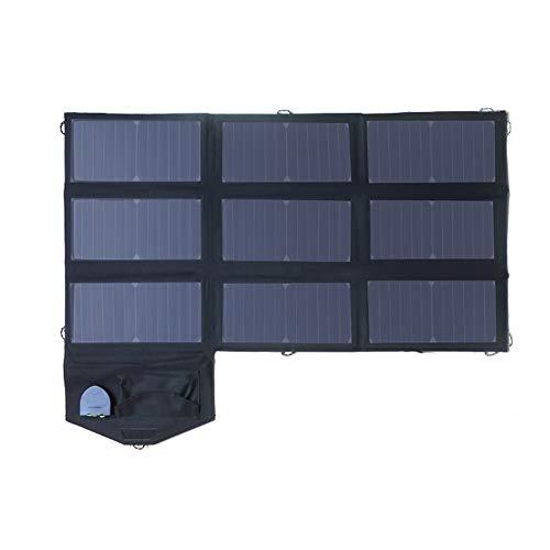 PresupuestoPotencia máxima de los paneles solares: 60 WInterfaz de salida: USB dual y DC5525Puerto USB: 5V2.4A (Máx.) × 2Puerto DC18V: 18V3.0A (Máx.)Tasa de conversión de energía solar: 22% -25%Tamaño desplegado: 93.5 × 51.0 × 0.5 cm / 36.80 × 20.07 ...