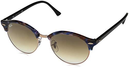 Ray-Ban Unisex-Erwachsene 0RB4246 Sonnenbrille, Blau (Spotted Brown/Blue), 51