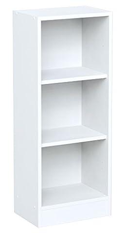 INFINIKIT Haven Small Bookshelf - White