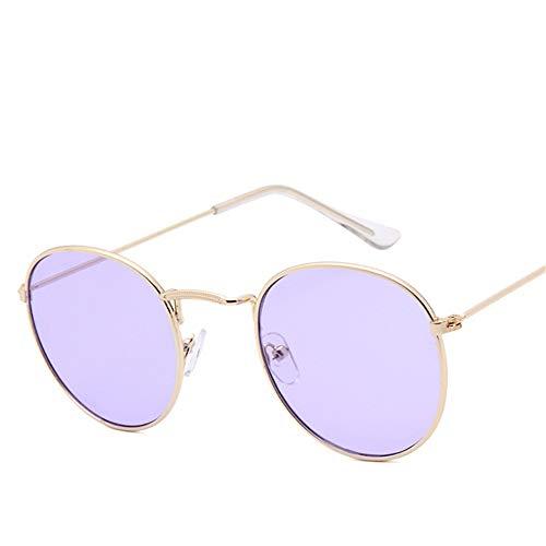 Polarisierte Sonnenbrillen Bifokale Lesesonnenbrille für Männer oder Frauen 100% UV-Schutz UVA & UVB verspiegelte Linse Klassische Sonnenbrillen, Unisex-Sportbrillen, Rec (Farbe : Lila)