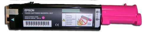 Epson C13S050317 AcuLaser CX21N, CX21NFAcuLaser CX21N, CX21NF Tonerkartusche magenta 5.000 Seiten