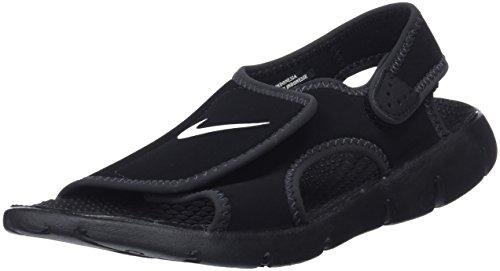 Nike Sunray Adjust 4 (GS/PS), Tongs Garçon, Gris, 3.5UK/23.0cm