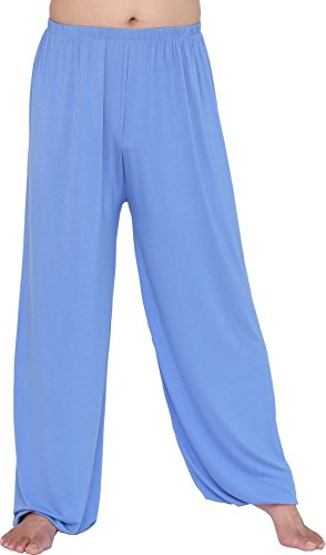12b4636a6cb6a HOEREV Brand Men's Super Soft Modal Spandex Harem Yoga Pilates Pants ...