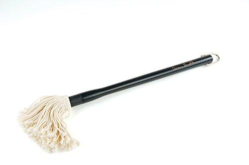 Steven Raichlen Saucen-Mop mit austauschbarem Kopf, schwarz, 3.71x3.71x46.99 cm, SR8008 (Mop Hat)