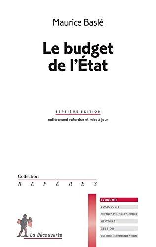 Le budget de l'État