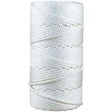 Geflochtenes Tauwerk Bootsleine Polyester 6 mm x 50 m Polyesterseil Polyester