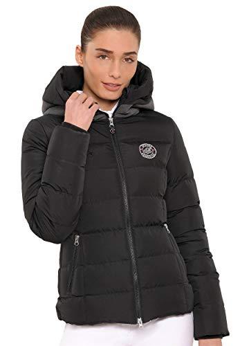 SPOOKS Damen Jacke, Kapuzenjacke, Damenjacke, Herbstjacke - Debbie Jacket Black L