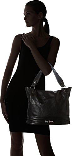Little Marcel - Id03, Borse a spalla Donna Nero (Black)