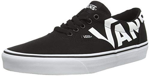 Vans Doheny, Sneakers Basses Homme  Noir ((Big Logo) Black/White Ryh) 40.5 EU