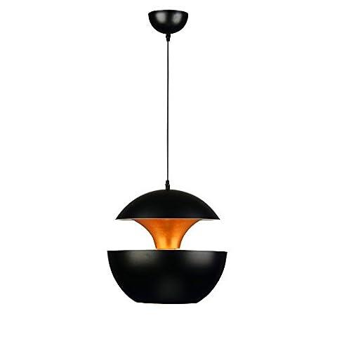 WEXLX Minimaliste moderne nordique caractère créatif coin chambre Salon Couloir Restaurant Lustres Protection oculaire 25*24cm