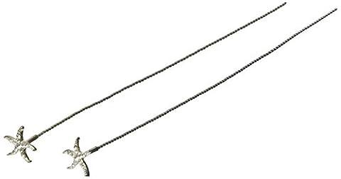 Unik Occasions Starfish Bouquet Jewelry, 2-Pack
