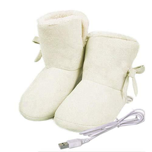 Paradesour Zapatos Calefactados Eléctricos Botas
