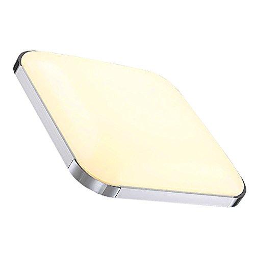 Hengda® 24w LED Deckenleuchte Modern Warmweiß 2700K-3200K IP44 Esszimmer Deckenbeleuchtung Badezimmer geeignet