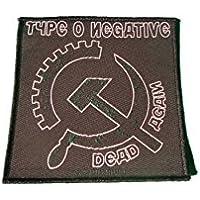 Type o NEGATIVA–Dead Again/martillo [Patch/parche, tejida] [sp2164]