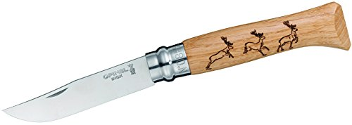 Opinel O001620 Couteau de Poche Mixte Adulte, Brun