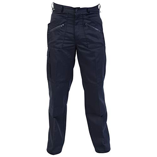 Absolute Apparel Herren Action-Arbeitskleidungshosen (112cm Lang) (Marineblau) -