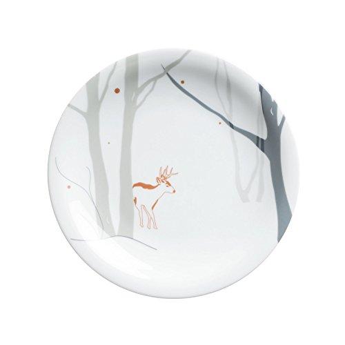 Kahla Winter Update Kuchenteller, Winters Tale, Motiv: Reh, Porzellan, 21.5 cm, 323460A76873C (Porzellan-reh)