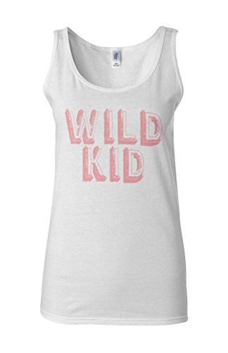 Wild Kid Child Cool Neighborhood Novelty White Femme Women Tricot de Corps Tank Top Vest **Blanc