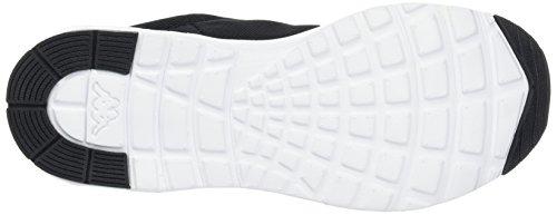 Kappa Damen Classy Sneaker Schwarz (Black/White)