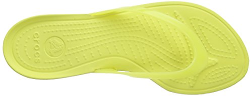 Crocs Really Sexy, Tongs femme Jaune (Chartreuse/Chartreuse)