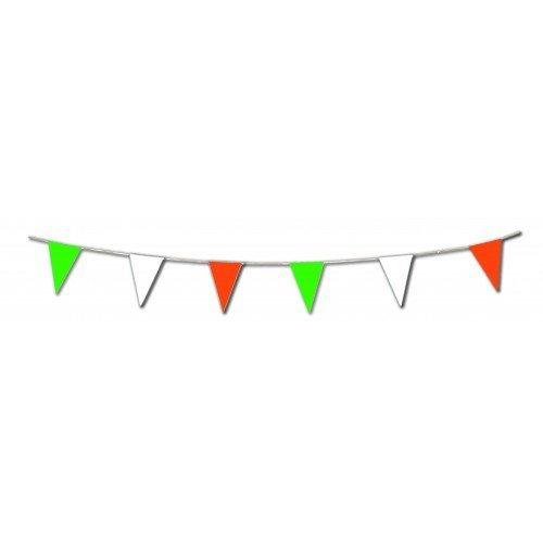 Irish Bunting Triangle 20 flags on 10m
