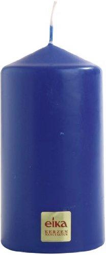 Royal 6 Licht (Eika Stumpenkerze, Paraffin Wax, Royal Blau, 6x 11cm)